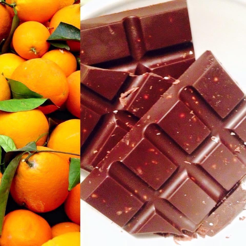 narancsos fibonacci nyers vegan csokoládé
